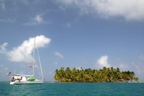 Camelot at Isla Achu Tupu Pipi, Chichime Cays.