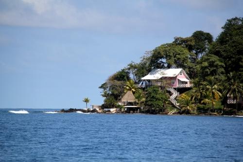 Approaching Isla Grande