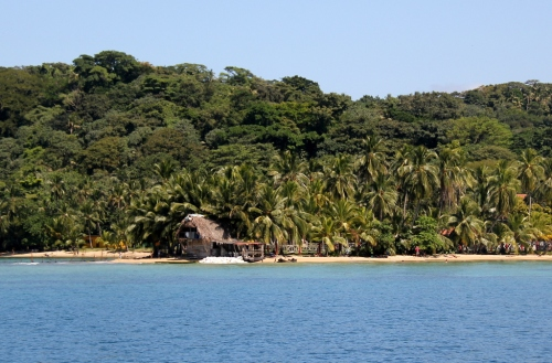 Beach Cabana on Isla Grande