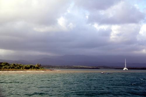 At anchor in Nargana