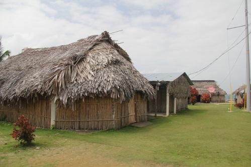 Typical abode on Nargana Island