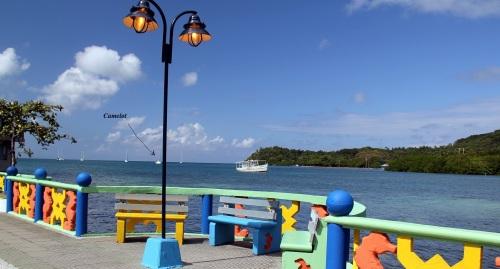 View of Santa Isabel Bay