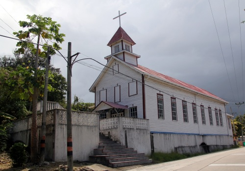 There are a lot of churches on the island!