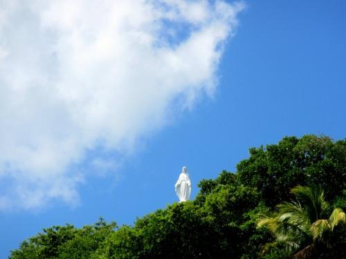 Goog-bye,Virgin of Providencia!