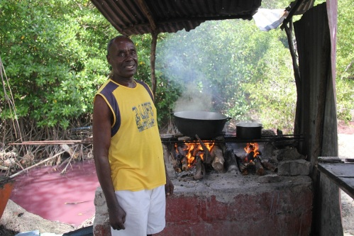 Mr Alfonso, our Chef for the day and a thoroughly great guy!