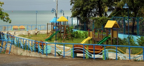 One of the many Playgrounds scattered around the island