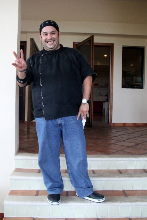 Our patient teacher, Chef Marcus Marin