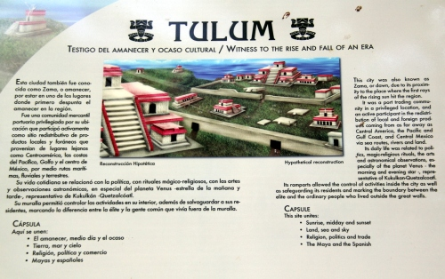 Tulum, the Mayan city also known as Zama