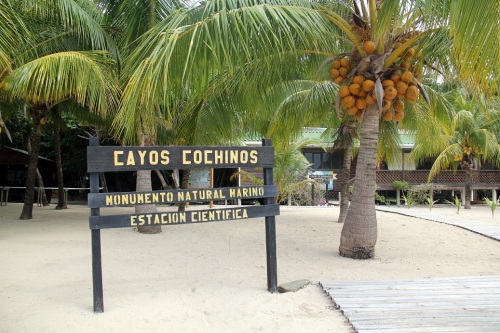 Cayos Cochino's Scientific Research Station