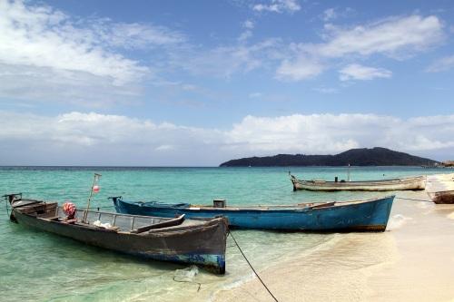 Fishing fleet of Cayos Cochinos