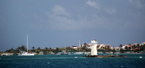 Approaching Isla Mujeres